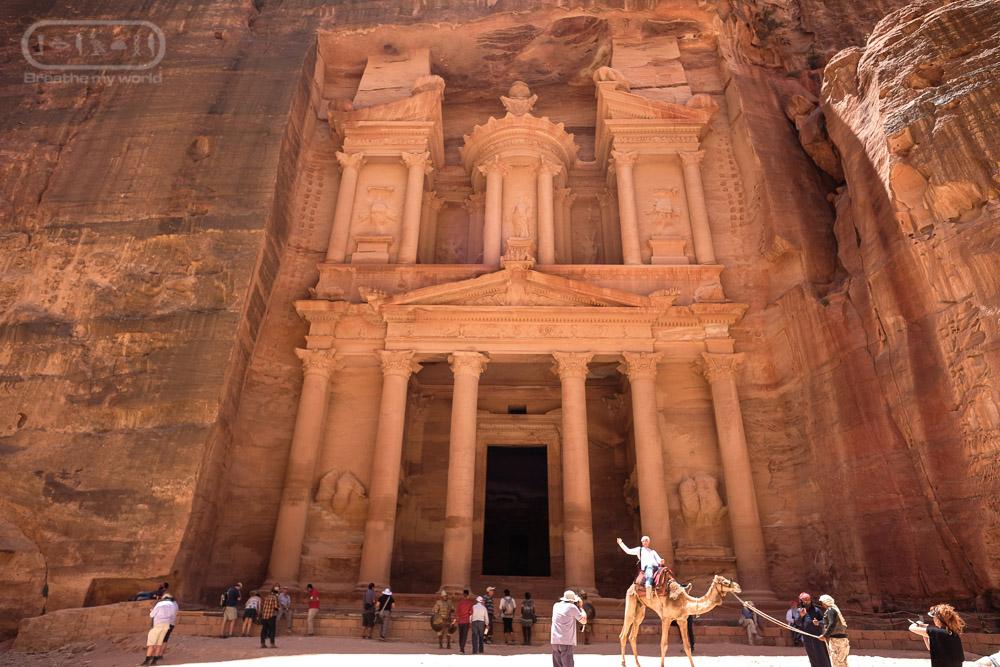 Petra นครศิลาสีกุหลาบ