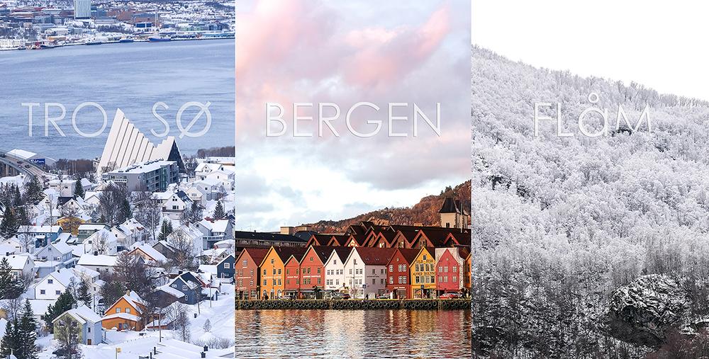 Go! Norway เที่ยวไปใน 3 เมืองเล็ก